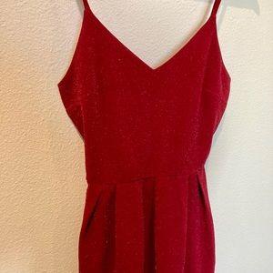 Monteau Bold Little Red Dress